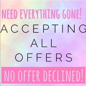 Accepting offers!!! 💜💜💜